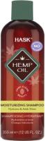 Шампунь для волос HASK Увлажняющий с конопляным маслом и экстрактом агавы (355мл) -