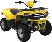 Квадроцикл Irbis Motors ATV 125 (желтый) -