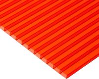 Сотовый поликарбонат TitanPlast 2100x2000x4 (красный) -