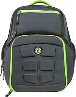 Рюкзак 6 Pack Fitness Expedition 300 / I00003418 (серый/зеленый) -