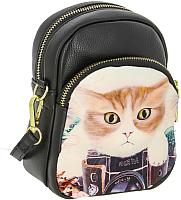 Детская сумка Kenka ZW 53-4 (черный/кот) -