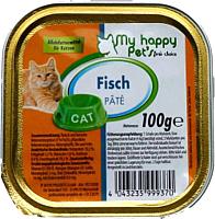 Корм для кошек My Happy Pets С лососем (100г) -