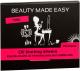 Матирующие салфетки для лица Beauty Made Easy Розовые (80шт) -