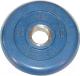 Диск для штанги MB Barbell d51мм 2.5кг (синий) -