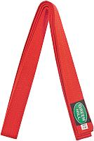 Пояс для кимоно Green Hill KBO-1014 (красный) -