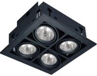 Комплект точечных светильников Arte Lamp Cardani Medio A5930PL-4BK -