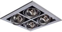 Комплект точечных светильников Arte Lamp Cardani Medio A5930PL-4SI -