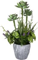 Искусственное растение Ad Trend Ваза с цветами / 49020i -