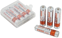 Комплект аккумуляторов Sipl Star Power 2500MAH NI-MH ААА \ BC53 (4шт) -