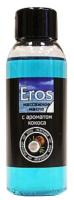Эротическое массажное масло Bioritm Eros c ароматом кокоса / 13010 (50мл) -