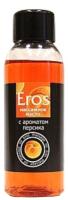Эротическое массажное масло Bioritm Eros c ароматом персика / 13008 (50мл) -