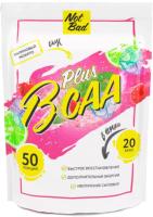 Аминокислоты BCAA NotBad С витамином С (250г, малиновый мохито) -