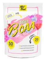 Аминокислоты BCAA NotBad С витамином С (250г, розовый лимонад) -