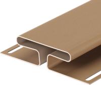 Фасадный профиль Docke H Premium (3.05м, капучино) -