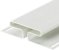 Фасадный профиль Docke H Premium (3.05м, пломбир) -