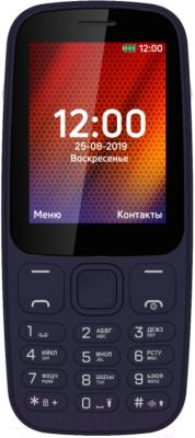 Мобильный телефон Vertex D537 (синий)