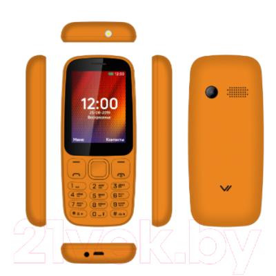 Мобильный телефон Vertex D537 (оранжевый)