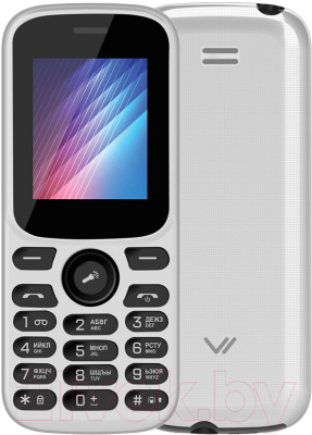 Мобильный телефон Vertex M123 (белый)