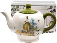 Заварочный чайник Home Line Оливковая ветвь / HC718R-G55 -