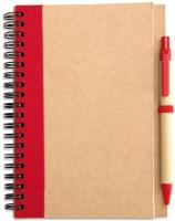 Блокнот Mid Ocean Brands Sonora Plus / IT3775-05 (коричневый/красный) -
