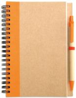 Блокнот Mid Ocean Brands Sonora Plus / IT3775-10 (коричневый/оранжевый) -