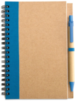 Блокнот Mid Ocean Brands Sonora Plus / IT3775-04 (коричневый/синий) -