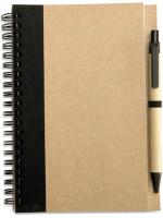 Блокнот Mid Ocean Brands Sonora Plus / IT3775-03 (коричневый/черный) -
