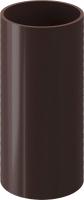 Труба водостока Docke Premium (1м, шоколад) -