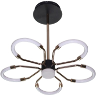 Потолочный светильник Natali Kovaltseva High-Tech Led Lamps 82012 (черный/золото) -