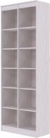 Стеллаж SV-мебель Бриз 1 Д открытый (ясень анкор светлый) -