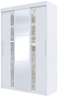 Шкаф SV-мебель №21 Д 1.5 (ясень анкор светлый) -