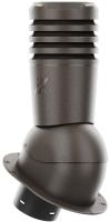 Выход вентиляционный на крышу Krono-Plast Eco KPI H500мм D150мм (темно-коричневый) -