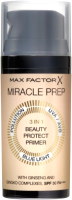 Основа под макияж Max Factor Miracle Miracle Prep 3in1 Beauty Protect Primer SPF30 PA+++  (30мл) -