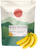 Протеин Elementica Organic Whey Protein / EW007 (870гр, банановый мусс) -