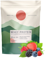 Протеин Elementica Organic Whey Protein / EW008 (870гр, ягодный микс) -