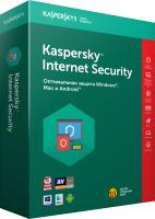 ПО антивирусное Kaspersky Internet Security 1 год Card / KL19392UCFR (продление на 3 устройства) -