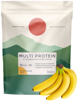 Протеин Elementica Organic Multi Protein / EM003 (900гр, банановый мусс) -