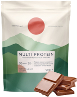 Протеин Elementica Organic Multi Protein / EM001 (900гр, шоколадный десерт) -