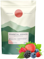 Аминокислоты Elementica Organic EAA / EEAA002 (200г, ягодный микс) -
