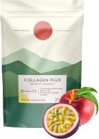 Витаминно-минеральный комплекс Elementica Organic Collagen Plus / ECL001 (200г, персик/маракуйя) -
