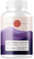 Комплексная пищевая добавка Elementica Organic Slim Shape Support / ECPS014 (60 капсул) -