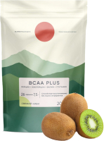 Аминокислоты Elementica Organic BCAA Plus / EBP003 (200г, свежий киви) -
