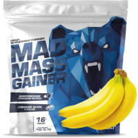 Гейнер Siberian Nutrogunz Mad Mass Gainer / MG012 (2000г, банан) -