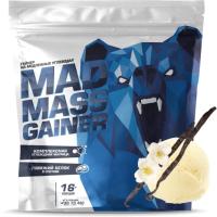 Гейнер Siberian Nutrogunz Mad Mass Gainer / MG017 (2000г, ванильный пломбир) -