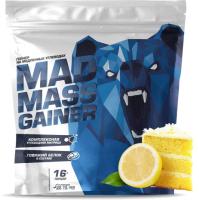 Гейнер Siberian Nutrogunz Mad Mass Gainer / MG016 (2000г, лимонный бисквит) -
