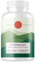 Комплексная пищевая добавка Elementica Organic Echinacea / ECPS005 (60 капсул) -