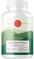 Комплексная пищевая добавка Elementica Organic Resveratrol / ECPS009 (60 капсул) -