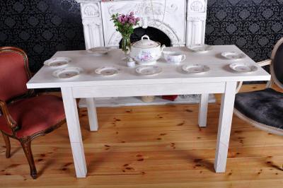 Обеденный стол Eligard Eli 1 / СОР-01 (акация белая) - стол в интерьере