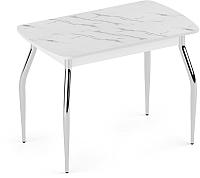 Обеденный стол Eligard Fly 1 / СБ1 (мрамор белый) -