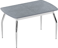 Обеденный стол Eligard Fly 2 / СБ2 (мрамор серый) -